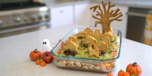 Monday Munchies: Graveyard Chicken Enchilada Dip