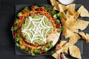 Monday Munchies: Halloween Layered Dip