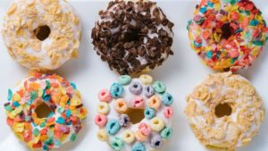 Monday Munchies: Cereal Doughnuts