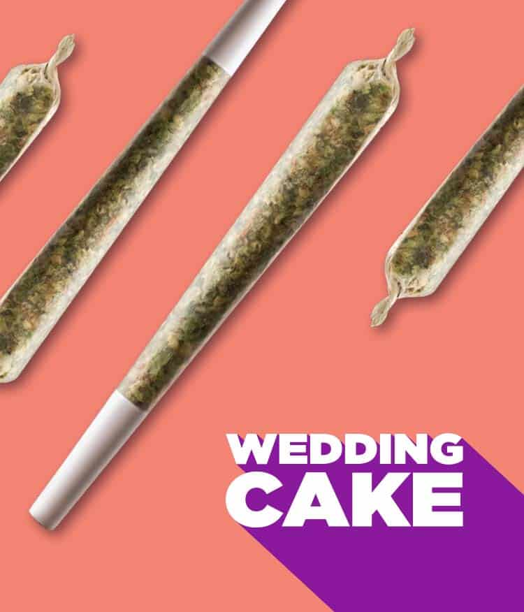 Wedding Cake with pre-roll